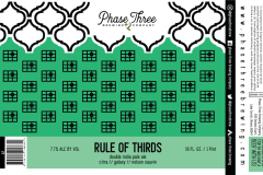 Phase Three Brewing Company - Rule Of Thirds