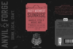 Anvil & Forge Brewing And Distilling - Hazy Midwest Sunrise