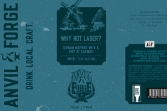 Anvil & Forge Brewing And Distilling - Why Not Lager?