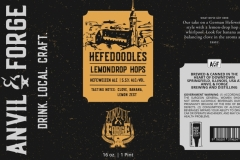 Anvil & Forge Brewing And Distilling - Hefedoodles