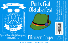 Byers Brewing Company - Party Hat Oktoberfest