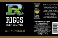 Riggs Beer Company - Weizenbock