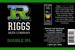 Riggs Beer Company - Double IPL