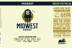 Midwest Coast Brewing Company - English Sporting Beer English Style Pale Ale