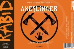 Rabid Brewing - Axeslinger