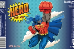Blue Island Beer Co - Hero Pale Lager