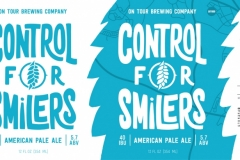 On Tour Brewing Company - Control For Smilers American Pale Ale