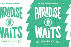 On Tour Brewing Company - Paradise Waits India Pale Ale
