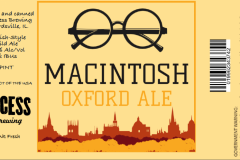 Recess Brewing - Macintosh Oxford Ale