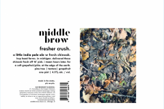 Middle Brow Brewpub - Fresher Crush.
