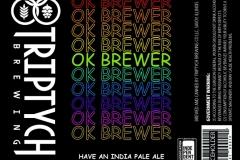 Triptych Brewing - Ok, Brewer