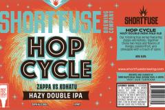 Short Fuse Brewing - Hop Cycle Zappa Vs Kohatu Hazy Double Ipa