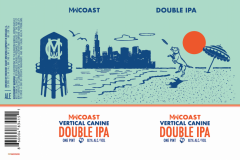 Midwest Coast Brewing Company - Vertical Canine Double Ipa