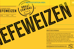 Great Central Brewing Company - Hefeweizen