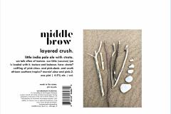 Middle Brow Brewepub - Layered Crush