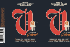 Midwest Coast Brewing Company - Volkslager Pilsner