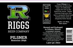 Riggs Beer Company - Pilsner