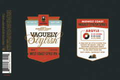 Midwest Coast Brewing Company - Vaguely Stylish: Argyle