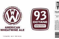 93 Octane Brewery - American Wheatwine Ale