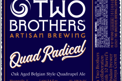 Two Brothers Brewing Company - Quadradical