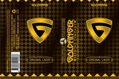 Goldfinger Brewing - Original Lager