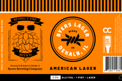 Byers Brewing Company - Byers Lager