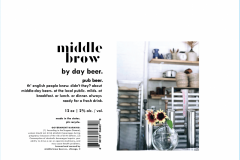 Middle Brow - By Day Beer