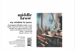 Middle Brow - My Window To Yours