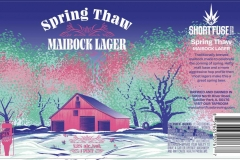 Short Fuse Brewing - Spring Thaw Maibock Lager