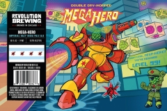 Revolution Brewing - Double Dry Hopped Mega-hero