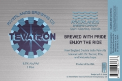Riverlands Brewing Co - Tevatron