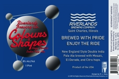 Riverlands Brewing Co - Colours & Shapes