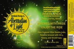 Riverlands Brewing Co - Aberration Of Light