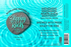 Riverlands Brewing Co - Skipping Rocks