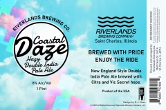 Riverlands Brewing Co - Coastal Daze