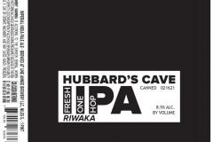 Hubbard's Cave - Fresh One Hop Iipa Riwaka