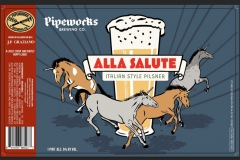 Pipeworks Brewing Co - Alla Salute