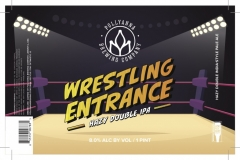 Pollyanna Brewing Company - Wrestling Entrance
