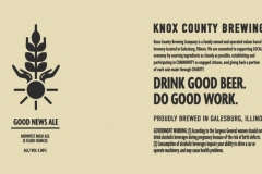 Knox County Brewing Co - Good News Ale