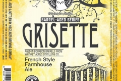 Holzlager Brewing Company - Barrel Aged Series Grisette