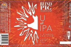Blind Pig Brewing - U Of Ipa