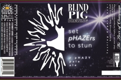 Blind Pig Brewing - Set Phazers To Stun