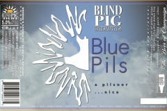 Blind Pig Brewing - Blue Pils