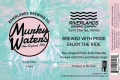 Riverlands Brewing Co - Murky Waters