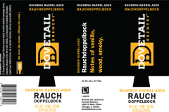 Dovetail Brewery - Bourbon Barrel-aged Rauchdoppelbock