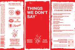 Lo Rez Brewing - Things We Don't Say