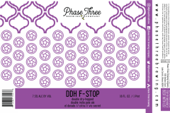 Phase Three Brewing Company - Ddh F-stop