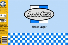 Double Clutch Brewing Company - Helles Lager