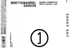 Une AnnÉe - Brett&barrel Saison