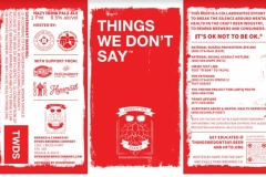 Byers Brewing Company - Things We Don't Say